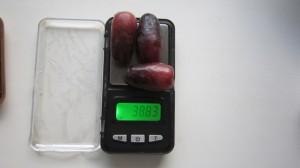 Ичкимар, вес 3-х ягод.