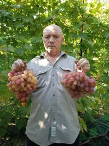 я с гроздями Виктора.